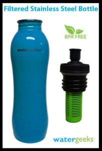 BPA-Free Filtered Stainless Steel bottles