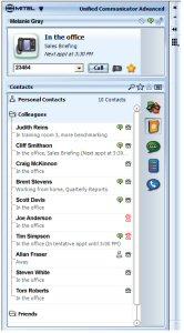 Mitel Unified Communicator Advanced