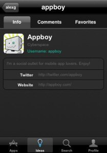 iPhone App Profile