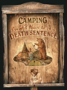 Camping Doesn't Have to be a Death Sentence
