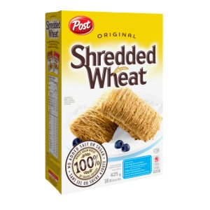 Post Shredded Wheat takes the confusion out of understanding cereal ingredient lists.