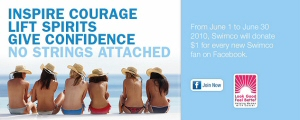 Swimco Launches $5,000 Facebook Campaign to Support Women with Cancer