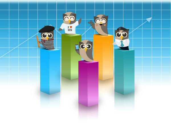 click social media distribution with ping