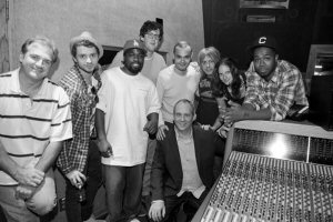 Pictured here, a few of the ole pop+urban songcamp writers taking a break with ole President Michael McCarty at the iconic Westlake Studios in Los Angeles. L-R- Dave Kopatz, Paul Lewis, McLean, Jimmy Smith, Sean Conlon, Jake Gosling, Femke Weidema, J2K, And Michael McCarty (Centre)