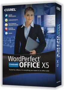 Corel WordPerfect Office X5 Box Shot