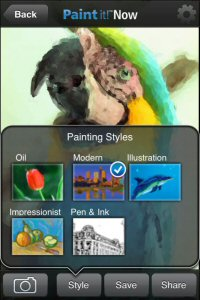 Corel Paint it! Now turns your photos into realistic digital paintings for you