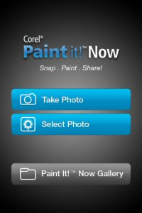 Browse your Corel Paint it! Now digital art gallery at any time