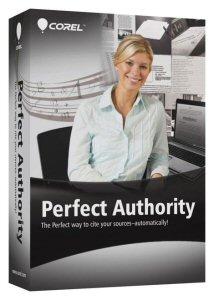 Corel(R) Perfect Authority