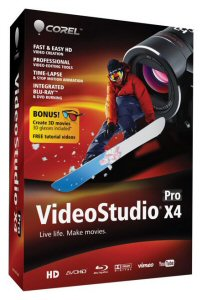 Corel VideoStudio Pro X4, video editing, movie making
