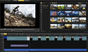 VideoStudio Pro X4 interface, video editing