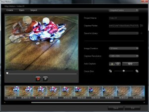 VideoStudio Pro X4 Stop Motion, video editing