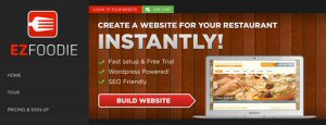 """EZFOODIE - The Restaurant Website Solution"""