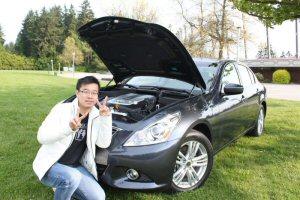 Un fervent de la route, Hon Chan, de Richmond, en Colombie-Britannique, est le gagnant du grand prix au concours Shell V-Power(md) « Passionnés de carburant » pour 2011. La photo de Chan, qui met en valeur la propreté du moteur de son Infiniti G37x, lui a valu le plus grand nombre de votes en ligne et le prix, un approvisionnement pour cinq ans en carburants super Shell V-Powermd, conçus afin d'assurer une protection maximale pour une performance optimale. Chan prévoit utiliser son prix pour réaliser son rêve de circonscrire l'Amérique du Nord en se rendant à l'extrémité nord de l'Alaska en compagnie de sa famille.