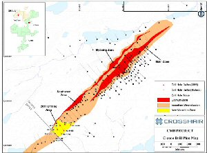 C Zone Drill Plan Map