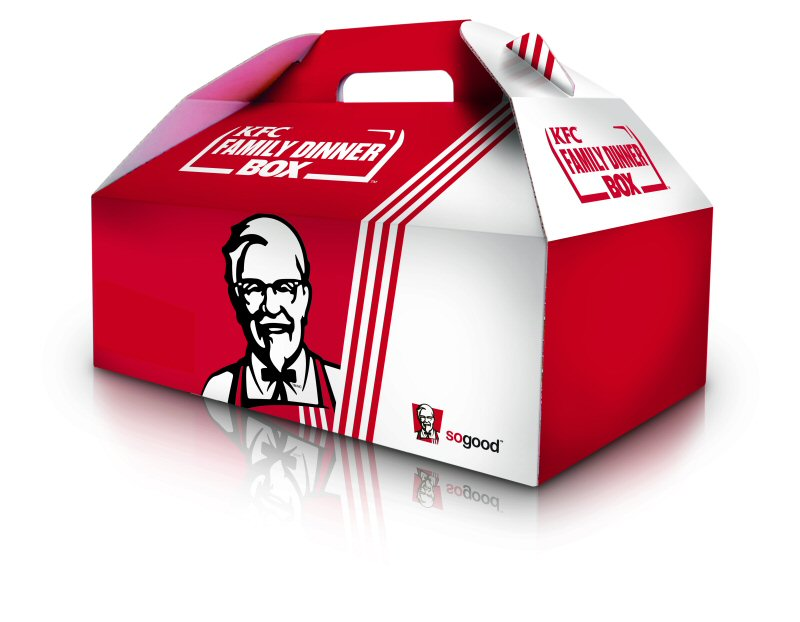 Kfc Meal Box Kfc Family Meal Box Toronto