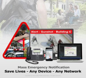 Amika Mobile specializes in critical and emergency mass notification solutions. AMS is ideal for airports, sports arenas, shopping centers and campuses whose visitors are not pre-registered in a contacts database. Database pre-registration is described as the Achilles' heel of emergency mass notification. The AMS alerts over 16 layers including WiFi, SMS, Email, VoIP, PA systems, Message Boards and the Web including Twitter, RSS Feeds, and Facebook. The AMS also triggers alerts based on disparate sensor events.  Amika Mobile is a corporate member of the International Association of Campus Law Enforcement (IACLEA). See:  www.amikamobile.com