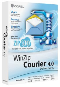 WinZip Courier 4 Now Available.