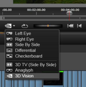 Pinnacle Studio(TM) 16 3D Viewing Modes Screen Shot