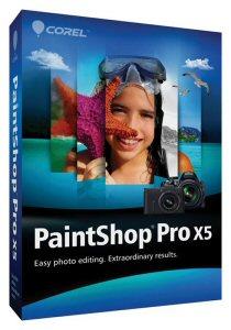 PaintShop® Pro X5 Box Shot