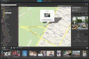 PaintShop® Pro X5 Places Map View Screen Shot
