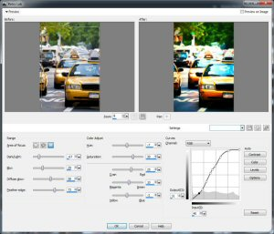 PaintShop® Pro X5 Retro Lab User Interface Screen Shot