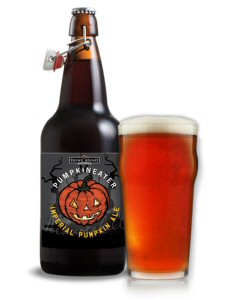 """Howe Sound Brewing proudly announces the release of """"Pumpkineater"""" in BC, Alberta, Ontario, Newfoundland and Washington."""