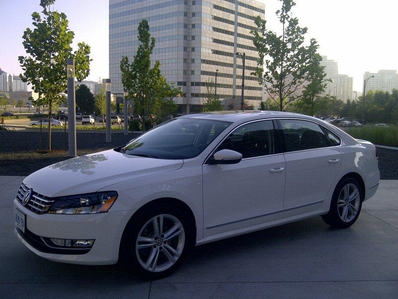 Volkswagen Canada Releases 2013 Passat Details