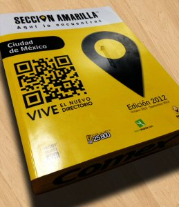 Snipp mobile-enabled Sección Amarilla's Yellow Pages which has been received by 2.1MM households in Mexico City