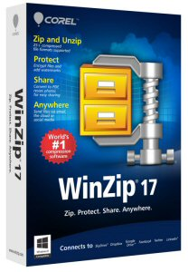 WinZip 17: the safer, simpler and faster way to share - anywhere.
