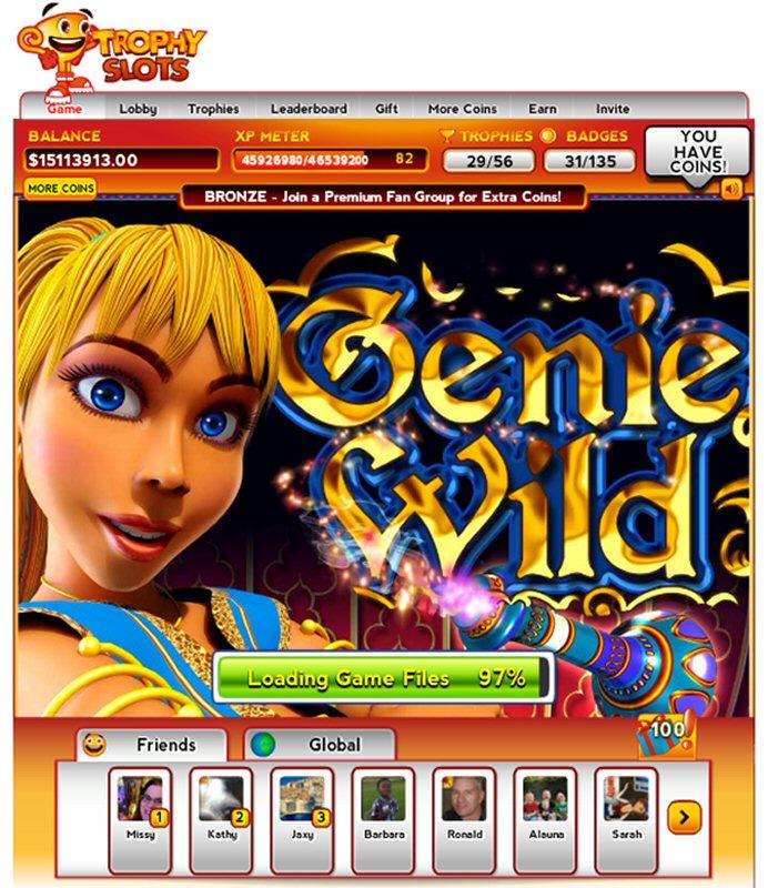 trophy slots casino
