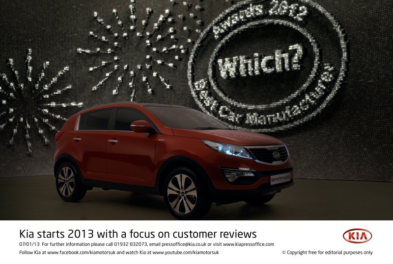 Kia Starts 2013 With A Focus On Customer Reviews
