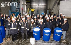 Cap-Chat team - First Tonne of High Purity Alumina