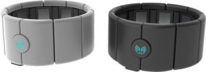 Thalmic's gesture control armband MYO.   Worn on the forearm MYO senses electrical activity in the muscles, allowing users to interact with digital technologies using just their fingers and hands.  (The Canadian Press Images PHOTO/Thalmic Labs Inc.)