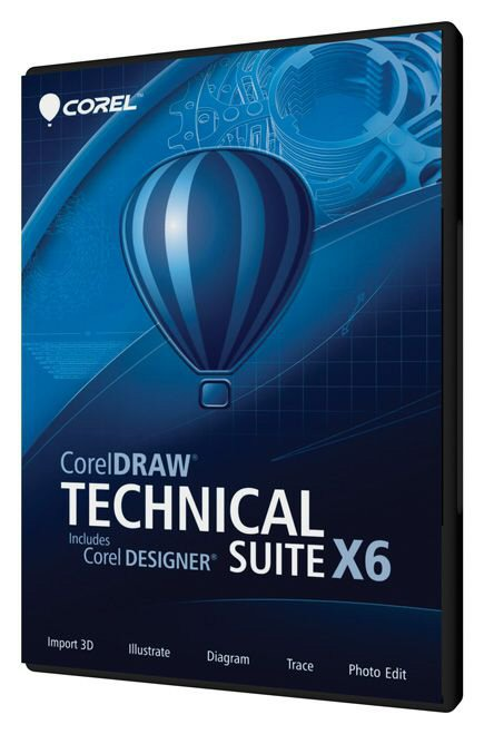 new coreldraw r technical suite x6 offers complete visual. Black Bedroom Furniture Sets. Home Design Ideas