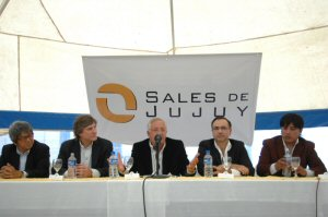Eduardo Fellner Governor of the Province of Jujuy endorses the project as a good example of social inclusion