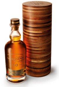 Une des 88 bouteilles de The Balvenie 50 jamais produites, et l'une des dernières en vente dans le monde.