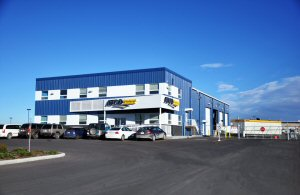 ATCO Structures & Logistics Bluegrass Space Rentals office in Calgary, AB