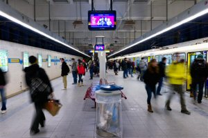 Edmonton est très fière d'annoncer l'installation de son tout nouveau réseau d'écrans numériques dans 10 stations du TLR.