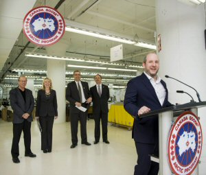 canada goose factory winnipeg location