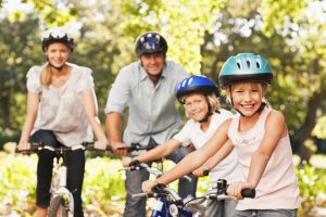 Learn how to minimize your family's carbon footprint, during Earth Week, and year round at www.justgreencommunity.com