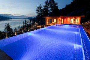 Infinity Pool and Pool House