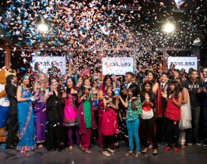 The 2013 A World of Smiles telethon raised more than $335,000 for BC Children's Hospital Foundation
