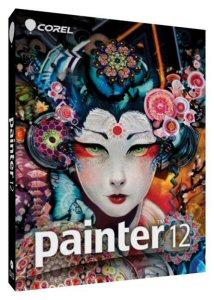 Corel® Painter(TM) 12 Box Shot