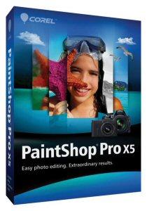 Corel(R) PaintShop(R) Pro X5 Box Shot