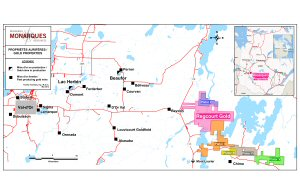 Monarques Resources Inc. is pleased to announce the acquisition of 5 other properties.