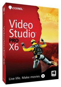 Corel® VideoStudio® Pro X6 Box Shot