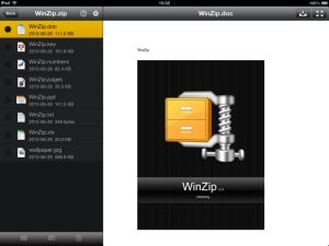 The new WinZip for iOS makes it easy to zip, encrypt and share files from your iPhone, iPad and iPod touch.