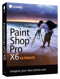 Corel® PaintShop® Pro X6 Ultimate Box Shot