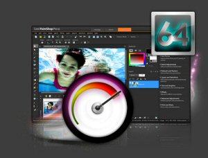 Corel® PaintShop® Pro X6 Ultimate 64-Bit Support Screen Shot
