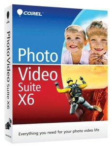 Corel® Photo Video Suite (TM) X6 Box Shot